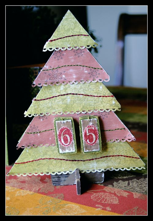 For dreamstreet Countdown Christmas Tree one
